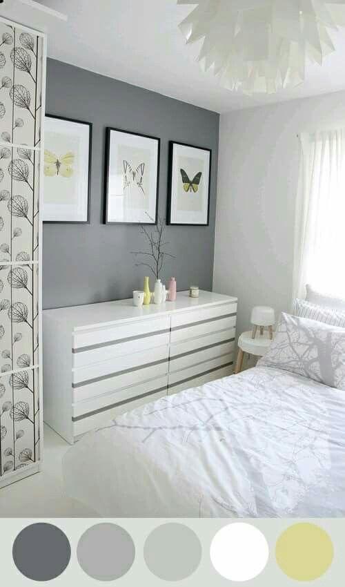 Oltre 25 fantastiche idee su Pareti grigie su Pinterest  Colori di vernice toni del grigio ...