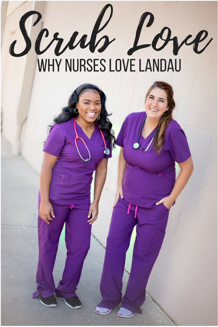 Nurses Love Landau Scrubs and we're telling you why! Bold colors let you be you and work comfortably. Read more about Smitten Scrubs by Landau. #ScrubLove Sponsored content.