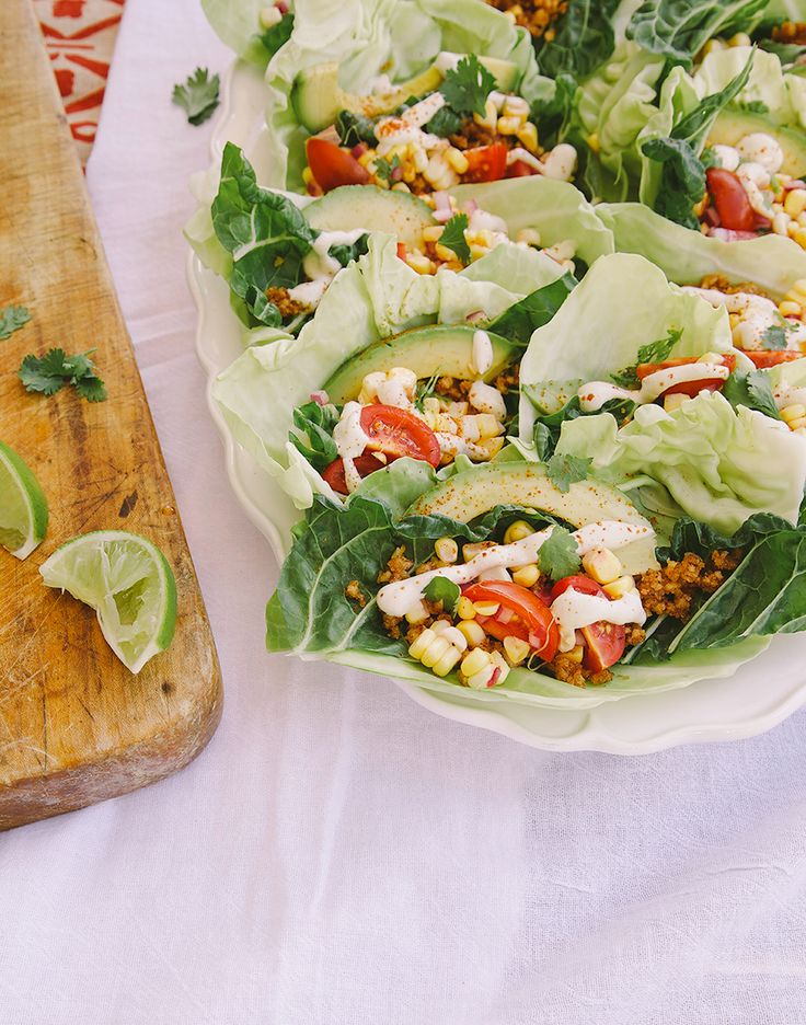 raw + vegan taco vibes » The First Mess // healthy vegan recipes for every season