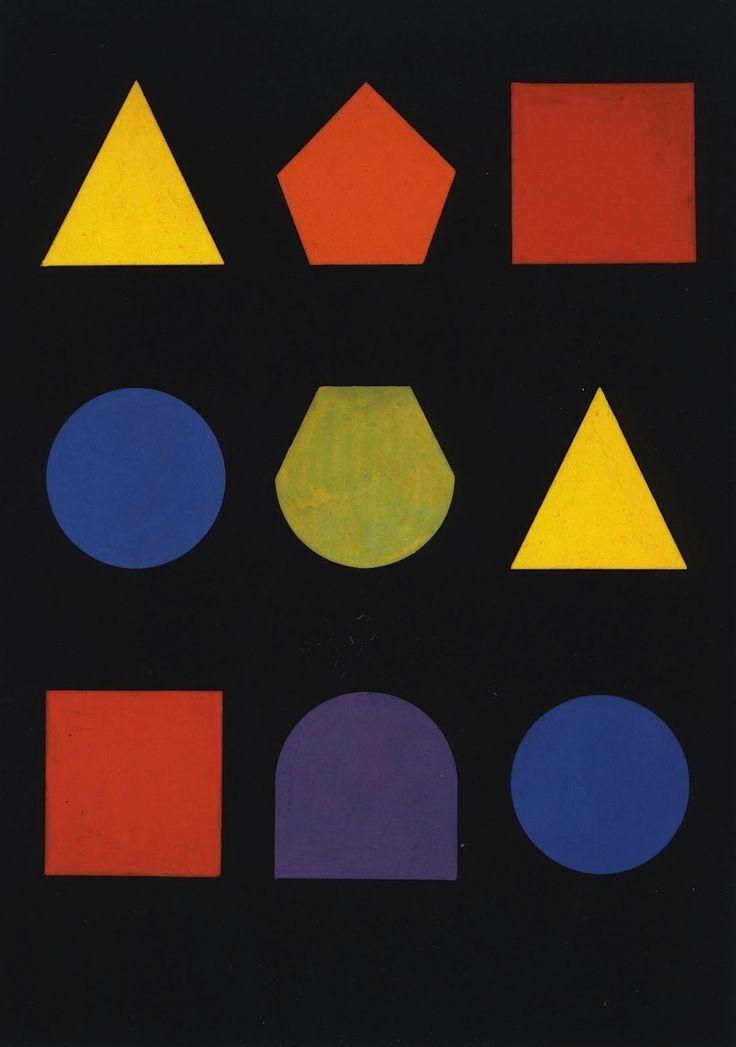 Herbert Bayer, postal Sin título, Bauhaus, Nd.