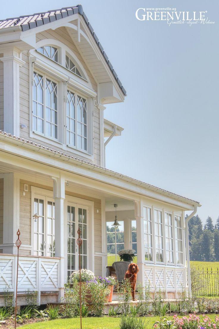 Greenville Architektur Wintergarten und Porch Haus in