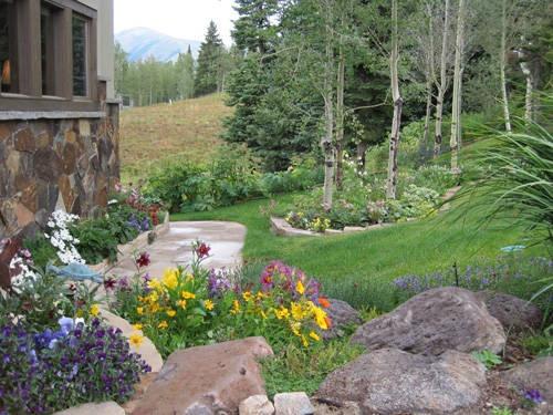 Rocky Mountain Trees & Landscaping | Garden Ideas | Pinterest on Mountain Backyard Ideas id=43680