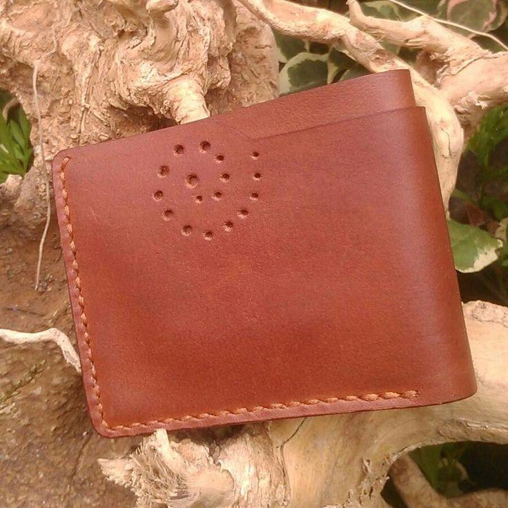 #wallet #leatherwallet #handmade