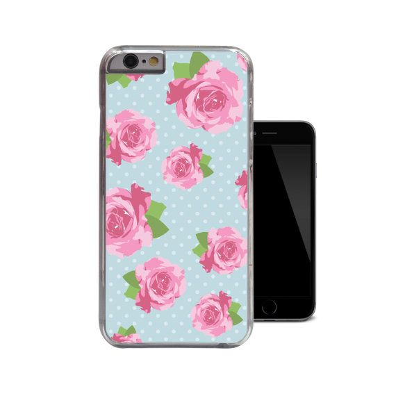 Shabby Chic iPhone 6 Case Floral iPhone 5 Case by 38kVinylGraphics