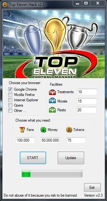 Top Eleven Cheats