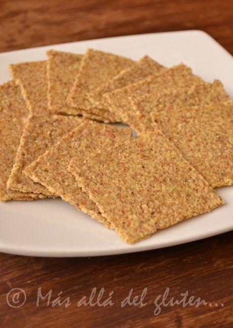Más allá del gluten...: Galletas Saladas de Almendras RAW (Receta GFCFSG, Vegana, RAW)