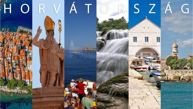 Egy csodálatos montázs kép Horvátországról! #croatia #horvátország #nyaralás #szép