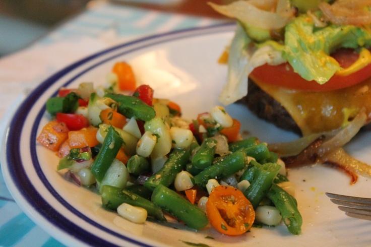 summer green bean saladGreen Beans Salad, Bean Salads, Mr. Beans