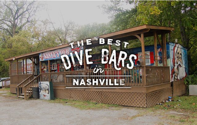 The Best Dive Bars in Nashville | Thrillist #Nashville #MusicCity #NashvilleDrinks