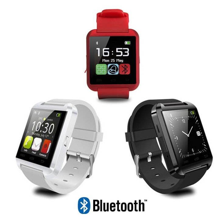 Smart Watch U8 + Reloj inteligente Bluetooth + Manos Libres + Reproductor Musica