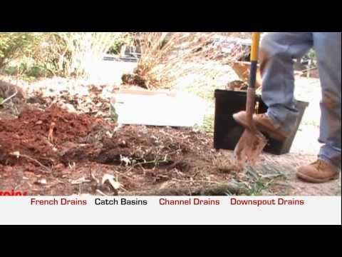 ▶ 4 Common Rainwater Drainage Problems and How To Solve Them, Apple Drains, Charlotte NC - YouTube