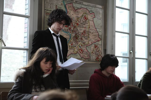 Le belle personne, Louis Garrel and Léa Seydoux