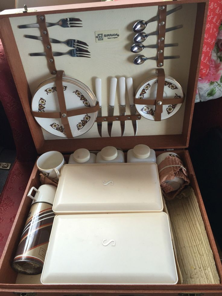 Hawker Marris Sirram vintage picnic set by pastonvintage on Etsy https://www.etsy.com/listing/451169838/hawker-marris-sirram-vintage-picnic-set