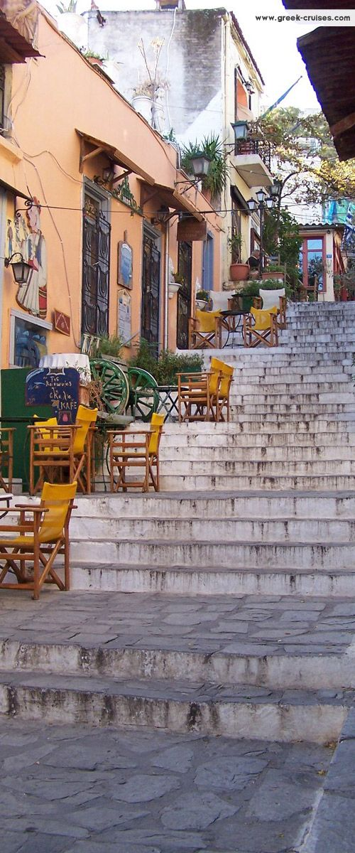 The Plaka, Athens, Greece. If it weren't for going to be walking around all day id probably gain 15 pounds. I've heard their food amazing.