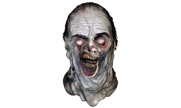 How to survive a Zombie Apocalypse? Fit in and become one of them with this Zombie Mask - Addition to your Zombie Survival Kit - The Walking Dead Zombie Mask - The Walking Dead Gift Idea