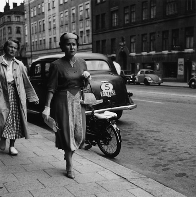 Stockholm 50s Black and White Photography by  Gunnar Smoliansky