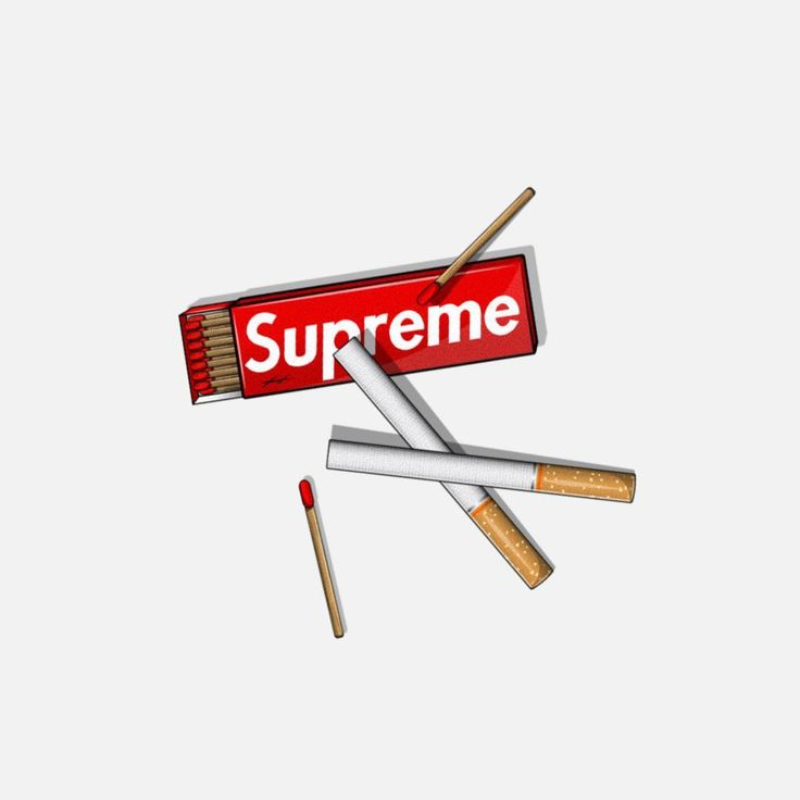 Cigarettes Matches Supreme Wallpaper Supreme Art Hypebeast Wallpaper