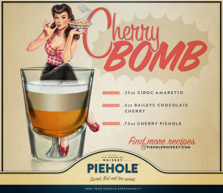 how to make cherry bombs with vodka