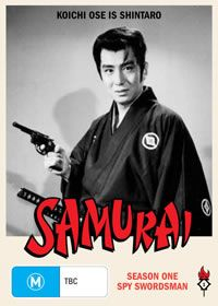 The Samurai  (Shintaro )  Kiochi  Ose the 1960s cult martial arts show on TV, with star knives, plenty of biffo and out of sink dubbed English language and didn't the kids  just love it.