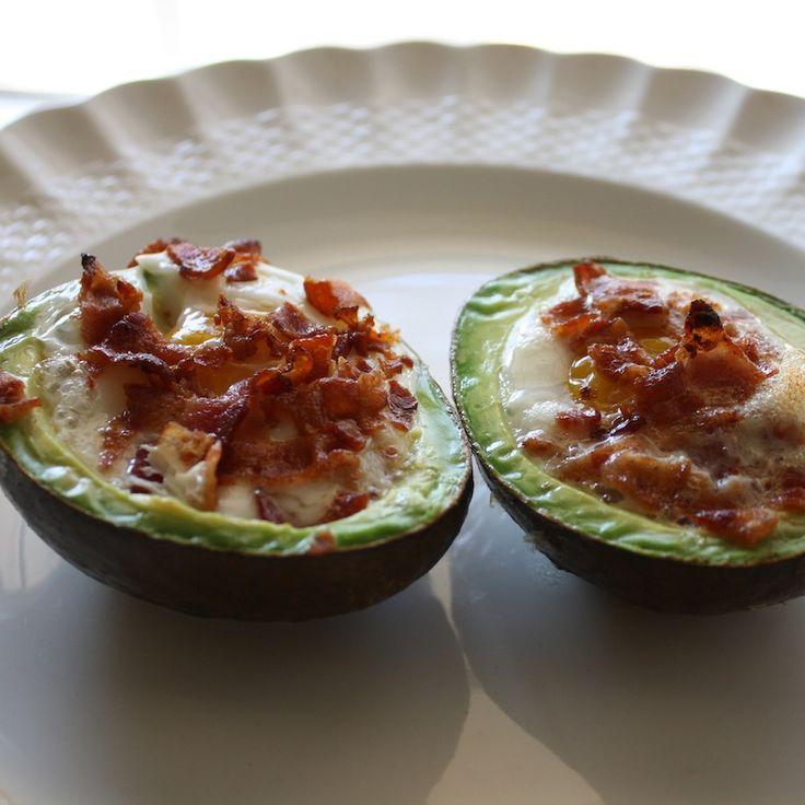 avocado bacon and eggs!