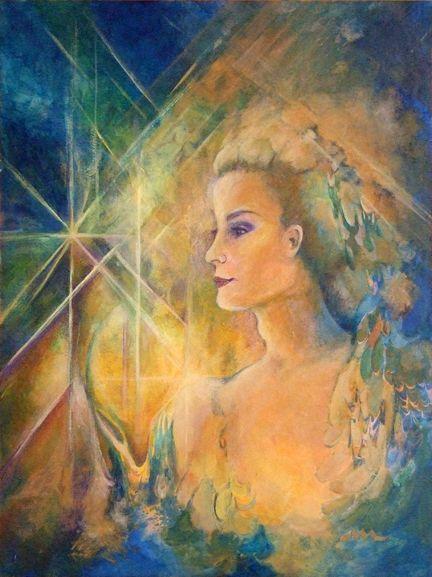 Theia of Dione (gelatiniseerd) (Grieks: Θεία, Theía), Théa (Grieks: Θέα, Théa), Ethra (Grieks: Αἴθρα, Áíthra) of Euryphaessa of nog Basilea was een koningin uit de Griekse mythologie. Haar naam kan worden vertaald als 'koningin van het licht' of 'Hemelkoningin'. Haar naam is in feite verwant aan de naam Zeus, het is hiervan de vrouwelijke vorm.