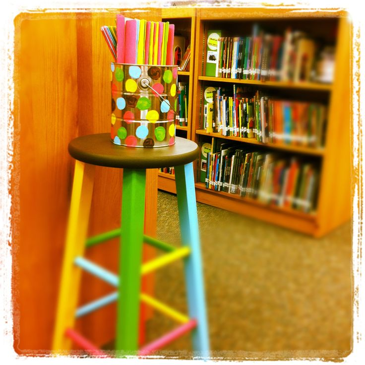 Elementary Library Decoration Themes | RBE Library Decor : Ruth Borchardt Elementary Library