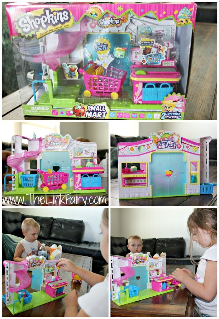 Shopkins Small Mart by Moose Toys #ShopkinsSummerPlaydate