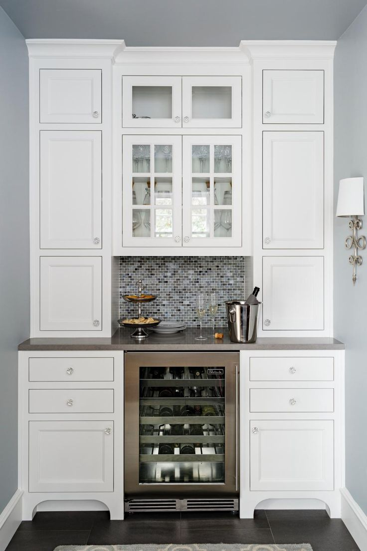 Best 25 corner wine cabinet ideas on pinterest corner bar cabinet kitchen wine rack - Bar built into wall ...