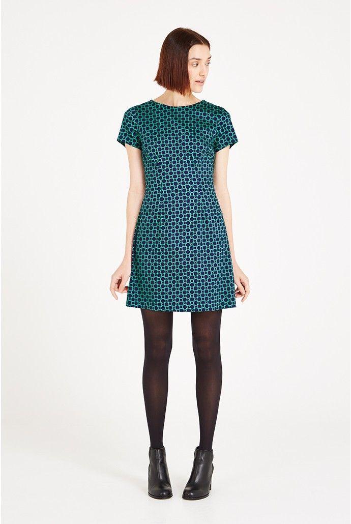 Louche Rynie Circle Print Dress