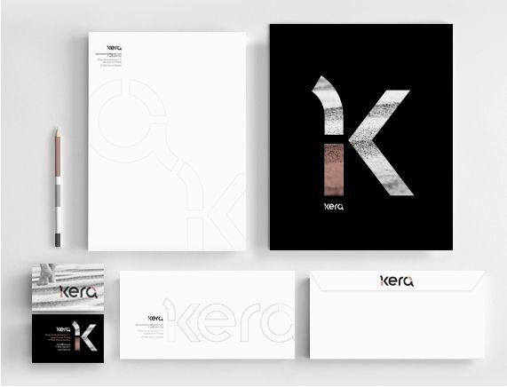 Kera Cerámica y Diseño, papelería