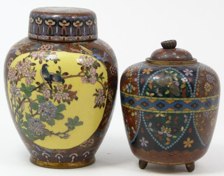 425 Best Images About Cloisonne On Pinterest Silver