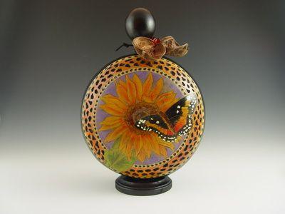 Main Gallery - Holly Parker Gourd Art
