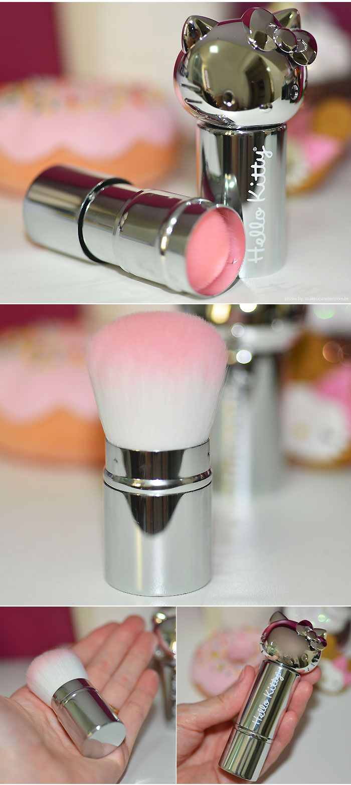 Pincéis | Kabuki Brush da Hello Kitty, o pincel fofucho