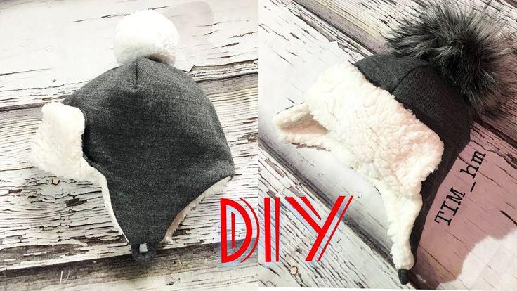 Как сшить теплую шапку с закрытыми ушками  TIM_hm 