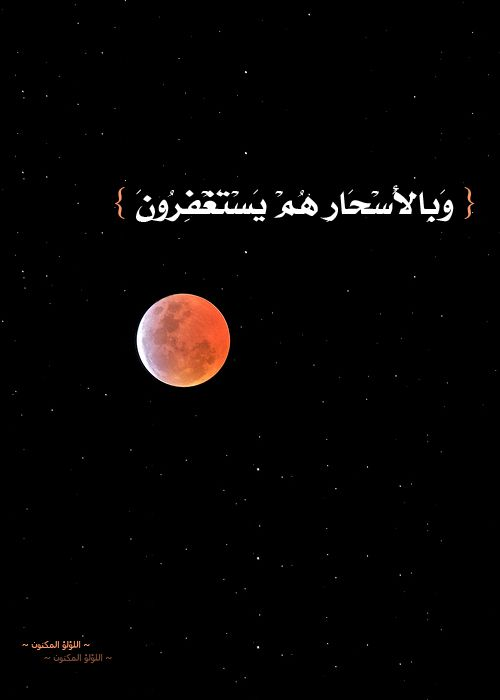 Qur'an adh-Dhariyat (The Winnowing Winds) 51:18: And in the hours before dawn, they were (found) asking (Allah) for forgiveness,
