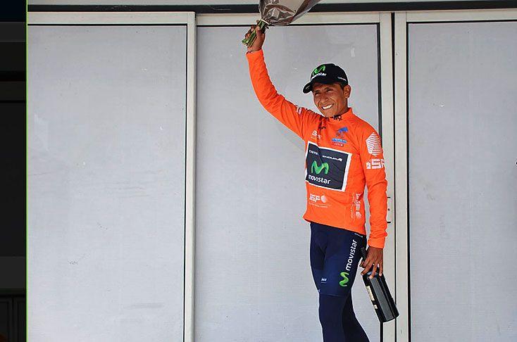El pedalista boyacense saldrá este domingo a sellar su triunfo en la última etapa de la prueba que se corre en el sur de Francia.