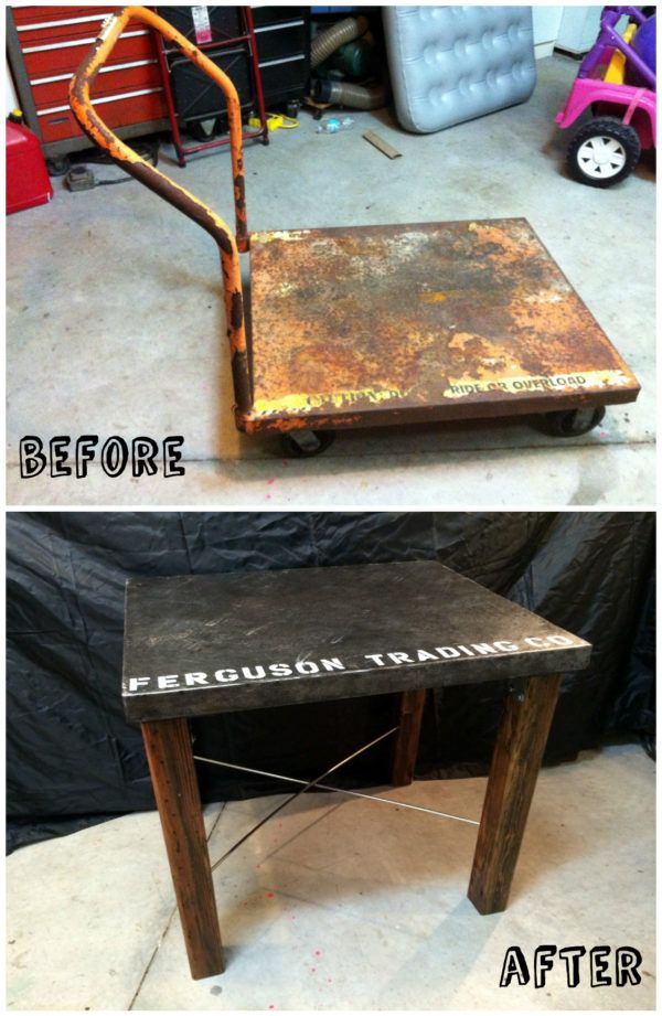 1276 best images about recycled furniture projects ideas for Repurposed metal furniture