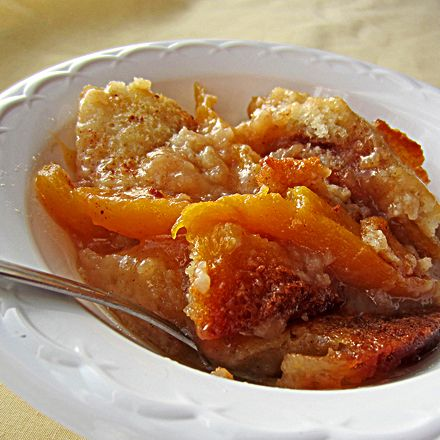 Texas Style Peach Cobbler...it says Texas style, but this is how my grandfather taught me to make it, too :)