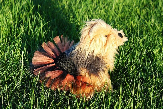 Little BOO Dog Tutu  Fits Dogs 13 To 22 Inches Around, by Kenzie's Treasures