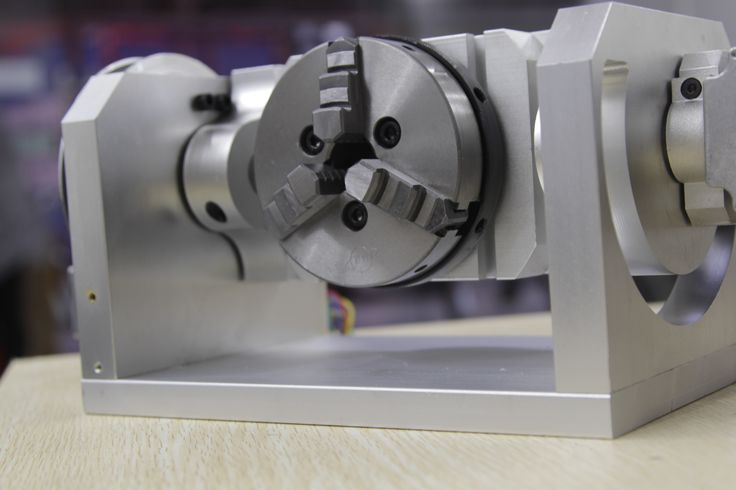 5 Axis CNC Machine 4th Axis Homemade Dividing Head For CNC Table Top Router
