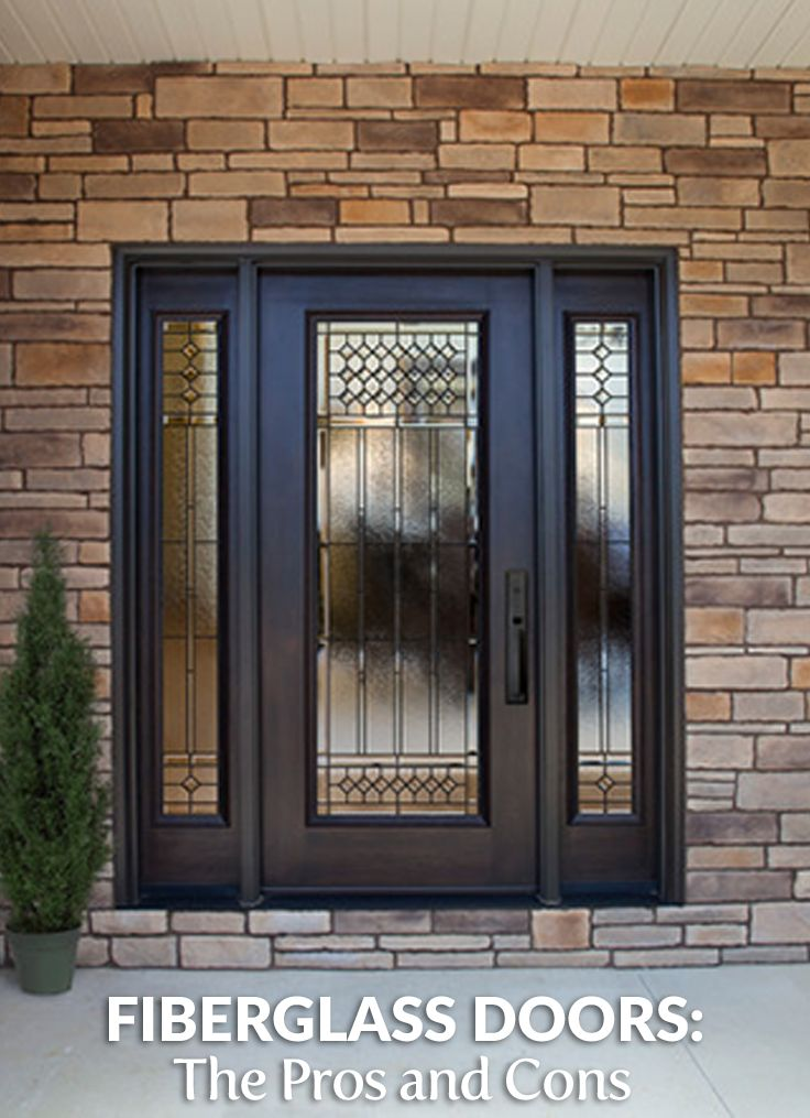 161 best remarkable remodeling reads images on pinterest for Fiberglass doors pros and cons