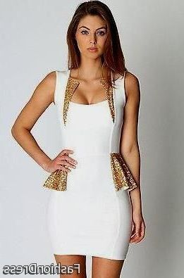 Cool white club dresses for women 2017-2018