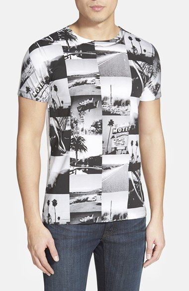 BOSS Orange 'Tavey' Photo Print T-Shirt available at #Nordstrom