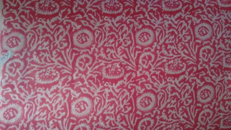 10 Yard Indian Printed Block Handmade 100% Cotton Natural Floral Loose Fabric
