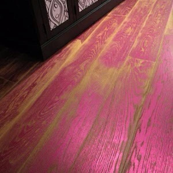 Pink Wood Floors Floors Flooring Painted Floors