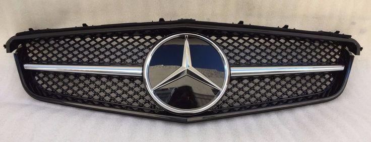 Awesome Mercedes: 2010-2013 MERCEDES E CLASS W207 COUPE SLS LOOK GRILLE GRILL BLACK E350 E550 NEW  P O W E R