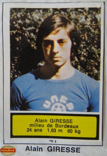 Football 1975. Alain Giresse