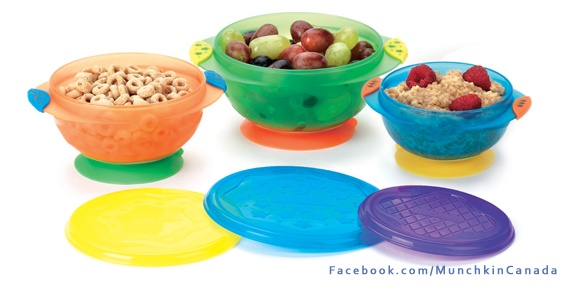 No more cleaning food off the floor  Suction Bowls  #Munchkin  #Baby  http://on.fb.me/M82imkMunchkin