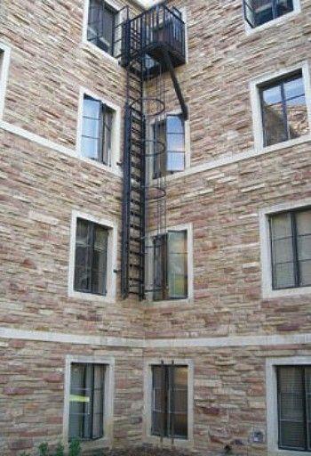 Counter Balanced Retractable Ladder