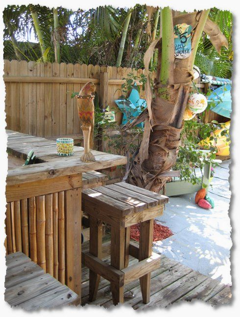 Creating Your Own Tropical Backyard Vacation